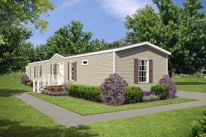Single Wide Mobile Home Exterior